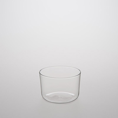 Heat-resistant Glass Cup with Wide Mouth/200ml