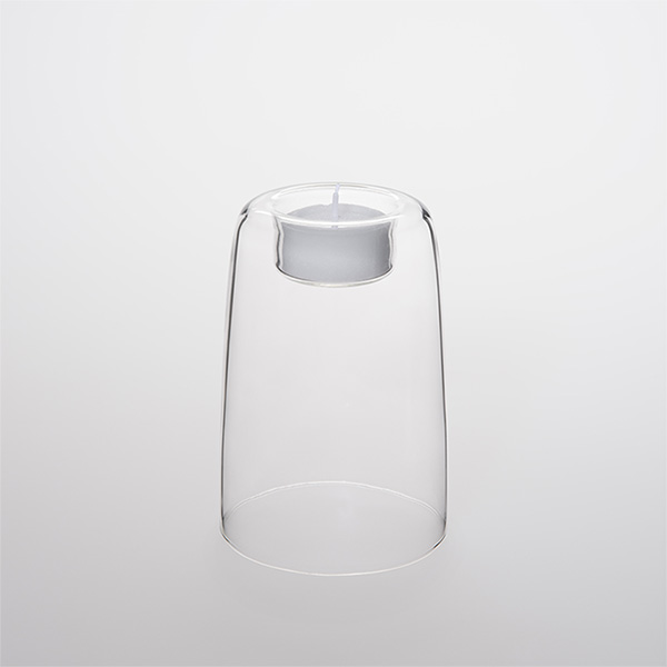 Heat-resistant Glass Candle Holder