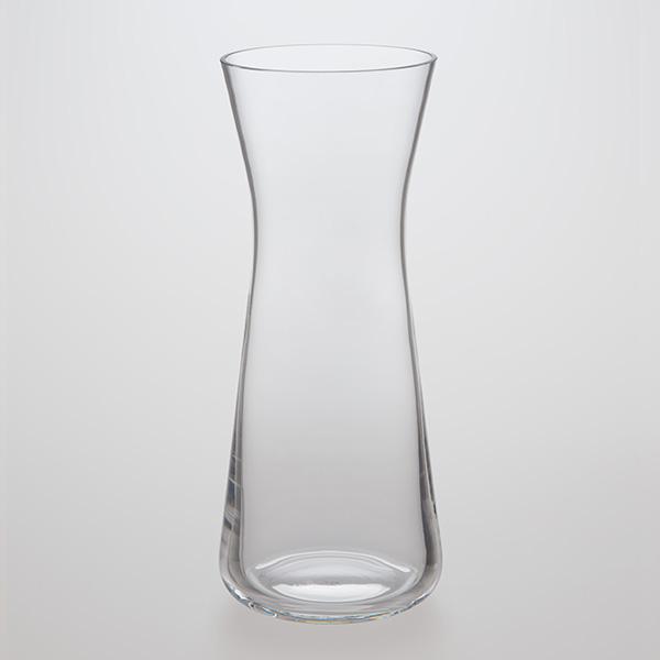 Stretched Glass Flower Vase 1150ml