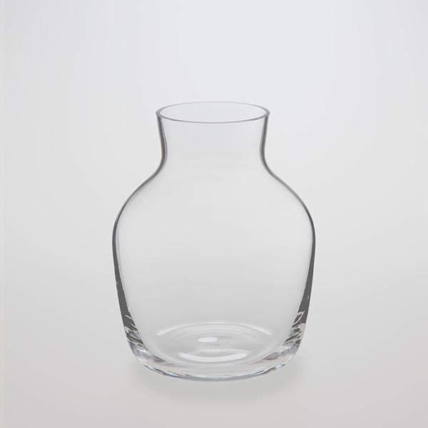 Round Glass Flower Vase 1750ml