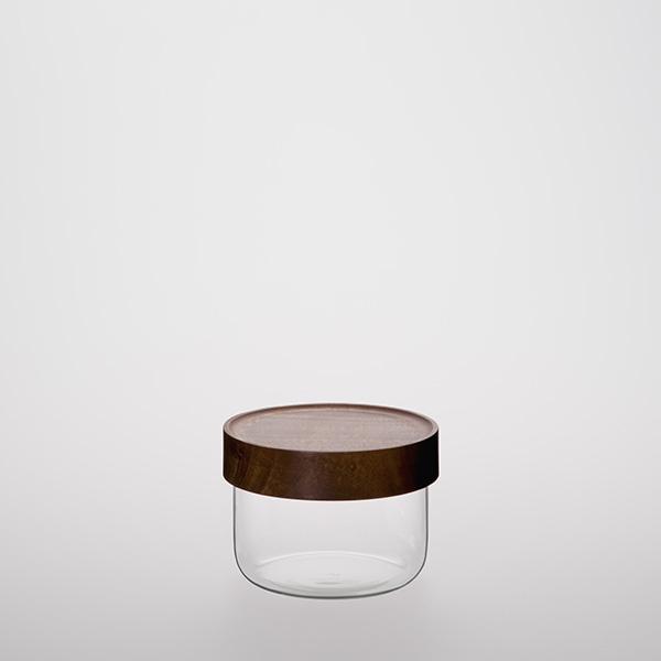 Glass Storage Jar with Taiwan Acacia Lid