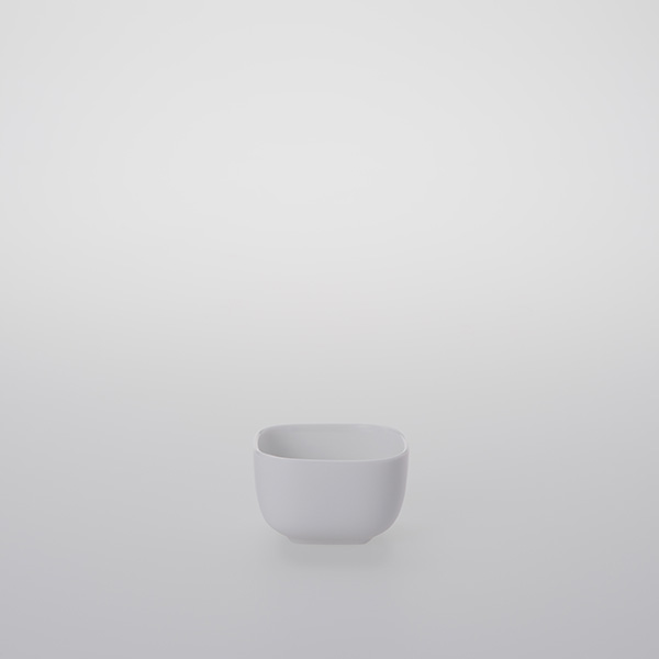 Square Porcelain Saucer 88ml
