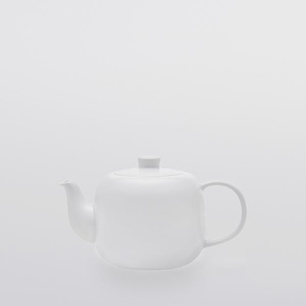 White Porcelain Teapot 520ml