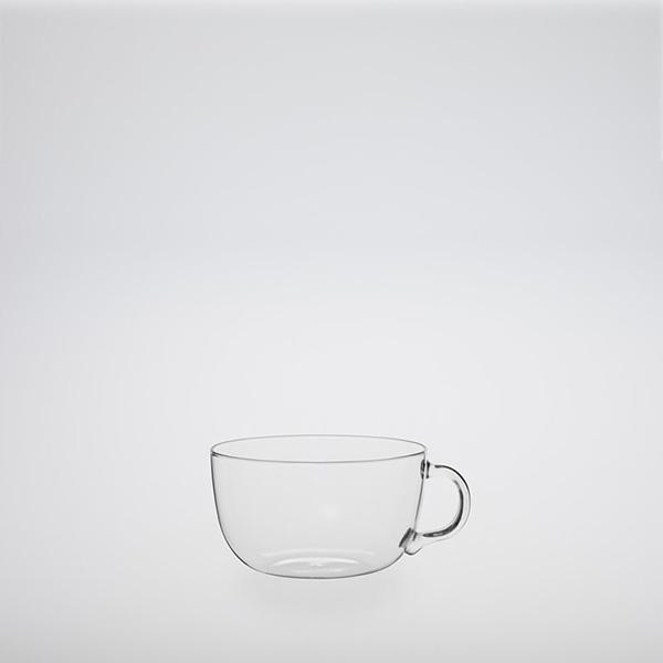 Heat-Resistant Glass Black Tea Cup 290 ml
