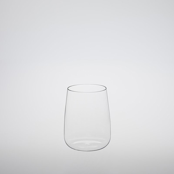Heat-resistant Stemless Red Wine Glass 370ml