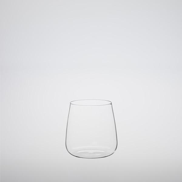 Heat-resistant Stemless White Wine Glass 360ml